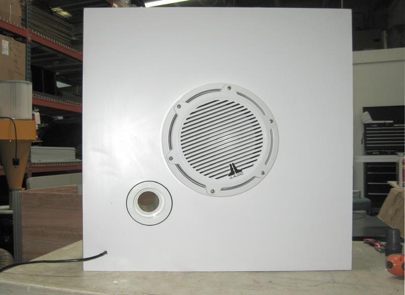 custom outdoor speaker enclosure