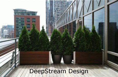 sustainable garden planter design modular rectangular wood planters