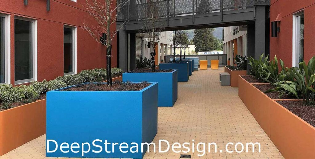 Click for more information on DeepStream Wilshire Square GFRC Concrete Planter