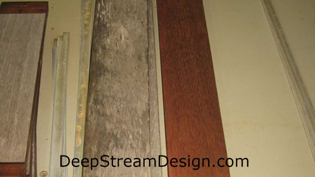 Tropical Hardwood properly maintained will last for decades in DeepStream's aluminum frame while recycled plastic lumber will be maintenance free